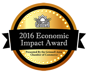 economic impact award logo