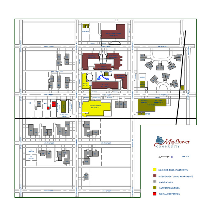 2016 mayflower site plan